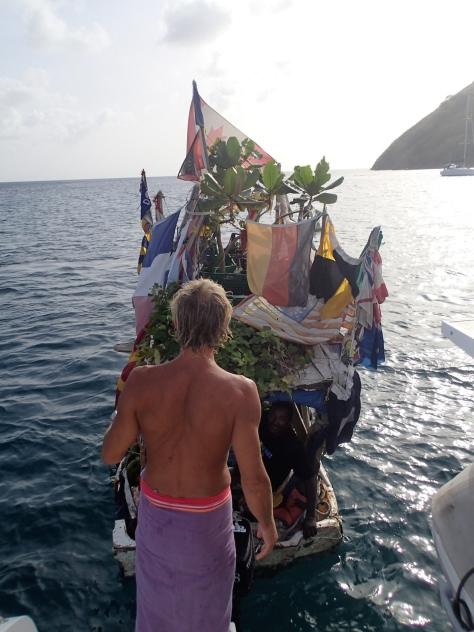 Gregory's Wonderful Floating Shop - St Lucia