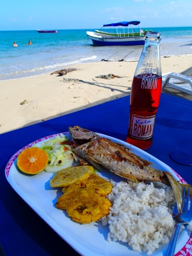 Classic Colombian Lunch